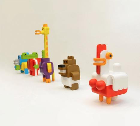 Minimals: Modular Toy Animals by Sebastián Burga   Colossal   Arts & Entertainment   Scoop.it