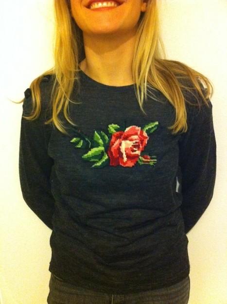 ElsaMuse: DIY par Honorine Ranson : le sweater brodé | News &  Deco | Scoop.it