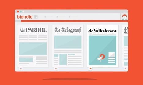Journaux : 3 conseils de Blendle, l'iTunes de la presse   Les médias face à leur destin   Scoop.it