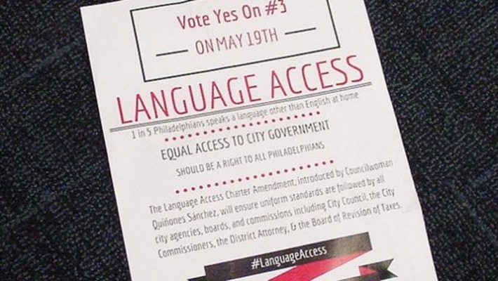 Officials Urging Passage of Charter Change To Widen Multi-Language Access To Phila. Services | The World of Indigenous Languages | Scoop.it