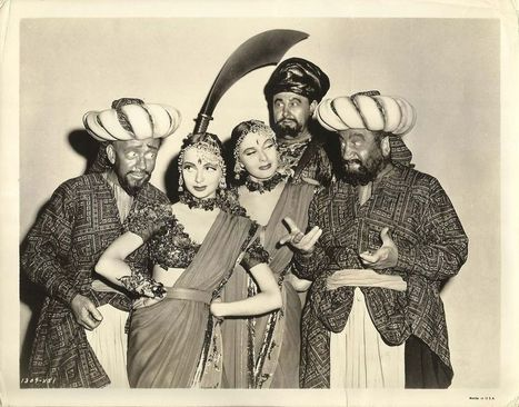 "BEATRICE & EVELYNE KRAFT & HUGH HERBERT ""Kismet"" Original Vint. Photo 1944 RARE 
