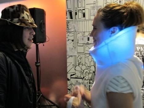 High-Tech Sweater Displays Wearer's Emotions via Integrated LED Lights | Strange days indeed... | Scoop.it