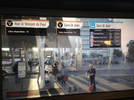 A Bordeaux, le tramway augmente la réalité | UseNum - Tourisme | Scoop.it