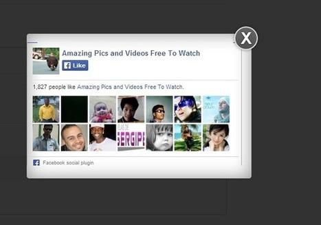 Facebook Pop Up For Blogger With Lightbox Effect - Blogger Wordpress Tricks | Blogger, astuces et widgets | Scoop.it