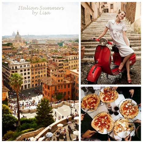 Driving trough Rome in the sixties! Cinquecento's everywhere! | Italian Summers, by Lisa | Italian Inspiration | Scoop.it