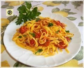 Fettuccine al sugo piccante   ricetta facile - Profumi Sapori & Fantasia….   lona81   Scoop.it