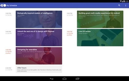 Google I/O 2014 - Applications Android sur Google Play | Mobile | Scoop.it
