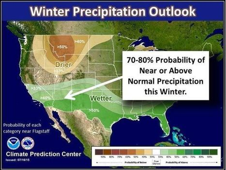 El Niño likely to bring big winter to Flagstaff | CALS in the News | Scoop.it