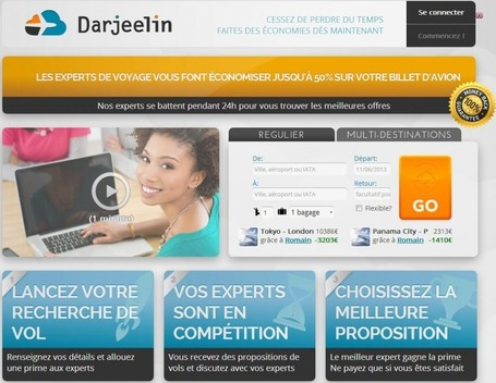 Un comparateur de vols humain : Darjeelin.com et le crowdsourcing | Travel Innovation | Scoop.it