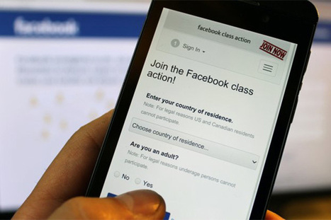 La prima privacy class action contro Facebook arriva in tribunale | InTime - Social Media Magazine | Scoop.it