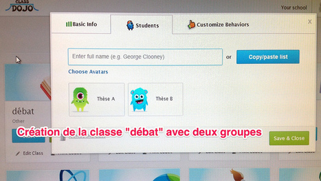 Stimuler et évaluer les débats oraux avec Classdojo | Enseigner les langues avec les tice | Scoop.it