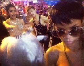 Rhymes with Snitch | Entertainment News | Celebrity Gossip: Rihanna's Wild Night in Thailand | GetAtMe | Scoop.it