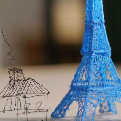 This 3D Printing Pen Lets You Draw Sculptures in Midair | 3D Sculpture | Scoop.it