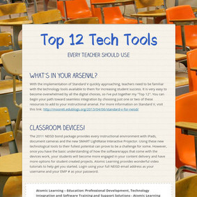 Top 12  Tech Tools | ICT hints and tips for the EFL classroom | Scoop.it