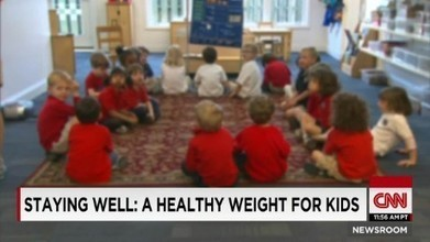 A healthy weight for kids - CNN Video | PreDiabetes News | Scoop.it