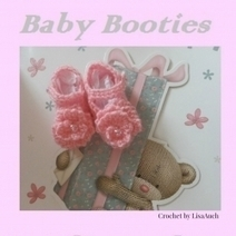Free Crochet Patterns for Baby Booties - Crafts on Squidoo | yarn crafts such as knitting crocheting knooking and machine knitting | Scoop.it