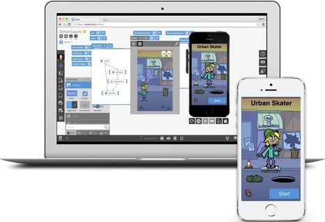 Vizwik  - A Visual Coding Tool for Making Mobile Apps | Web 2.0 Tools in the EFL Classroom | Scoop.it