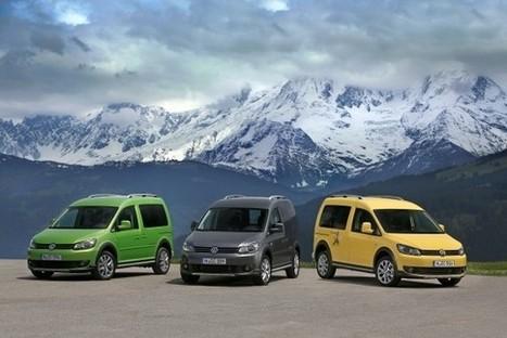 Volkswagen Cross Caddy, un disfraz campero | Areavan | Scoop.it