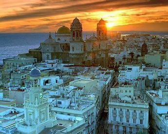 Twitter / _Paisajes_: #Cádiz la tarde rompe en la ... | La Andalucía Libre | Scoop.it