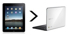 Teaching like it's 2999: iPad > Chromebook | iOS in Education | Scoop.it