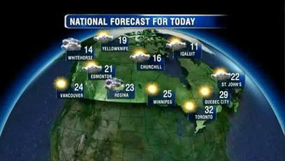 Russ Lacate's Wednesday weather forecast on BT Vancouver - News1130   Free Video Editing Software   Scoop.it