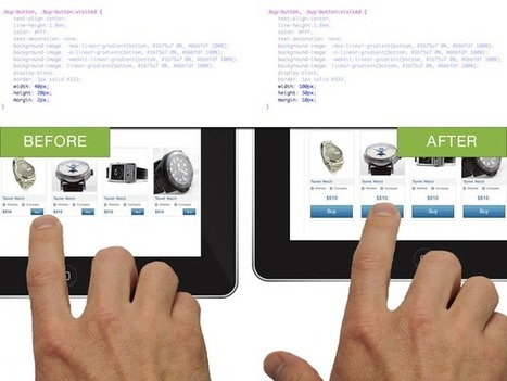 The Pursuit of Tappiness -Making your website mobile friendly| UX Magazine | Innovations in e-Learning | Scoop.it