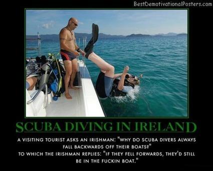 irish-scuba-diving-back-roll-technique-ireland-demotivational-poster.jpg (500x402 pixels)   Scuba Smurf   Scoop.it
