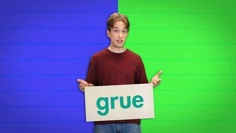 In many languages blue and green are considered to be different shades of the same color. In English, that color is referred to as 'grue' | Languages, Translation & Interpreting | Scoop.it