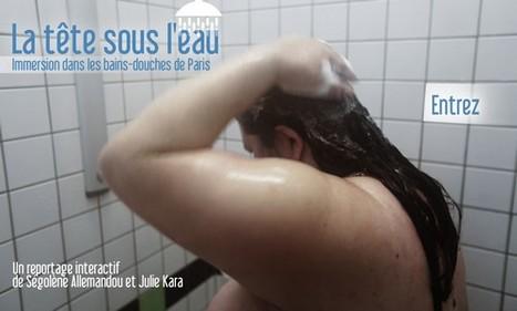 La tête sous l'eau. Immersion dans les bains-douches de Paris | France 24 | L'actualité du webdocumentaire | Scoop.it