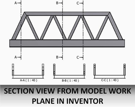 Section View from Model Work Plane in Inventor? - Blog - CADline Community | Cadline Community | Scoop.it