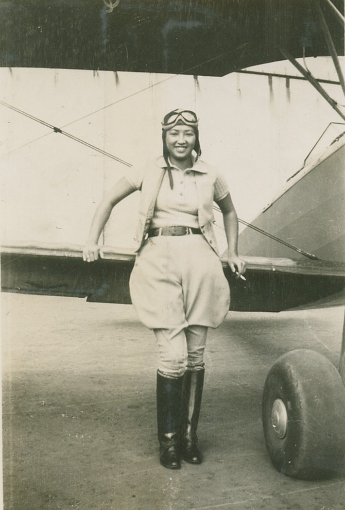 Hazel Lee (1912-1944) was the first Chinese American woman to fly for the United States military | Herstory | Scoop.it