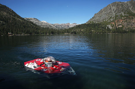 Solving A Mile-High Mystery: Explorers Study Ancient Underwater Forest at Fallen Leaf Lake, Tahoe | ScubaObsessed | Scoop.it