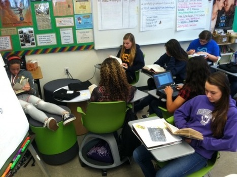 Collaboration on Wheels: 21st Century Classroom Furniture at Work | School Library Learning Commons | Scoop.it