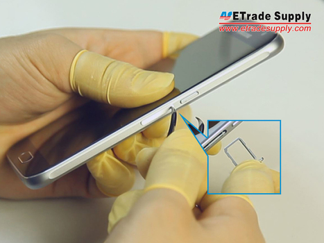 Samsung Galaxy S6 SM-G920 LCD Screen and Digitizer Assembly Gold - ETrade Supply | Screen Replacement | Scoop.it