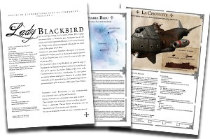 Lady Blackbird : Contes de l'indomptable bleu du firmament | Imaginaire et jeux de rôle : news | Scoop.it