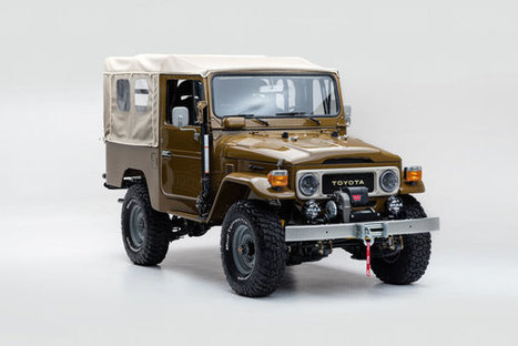 Zreštaurovaná Toyota Land Cruiser presne triafa hranicu dobrého vkusu   Doprava a technológie   Scoop.it