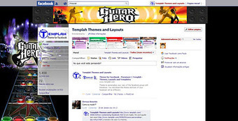 Theme for Facebook - Guitar Hero | Themes for Facebook | Scoop.it