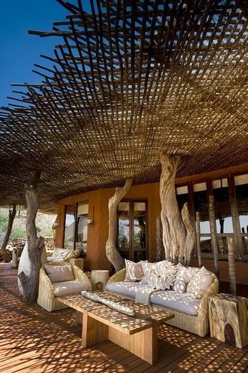 Relaxing African Outdoor Space for Casual Gathering | Simple Decorating Ideas For Home | Scoop.it