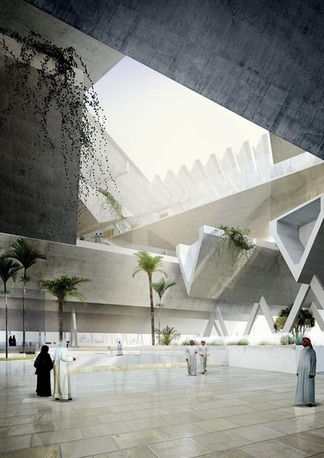 New Qatar Courthouse - eVolo | Architecture Magazine | The Architecture of the City | Scoop.it