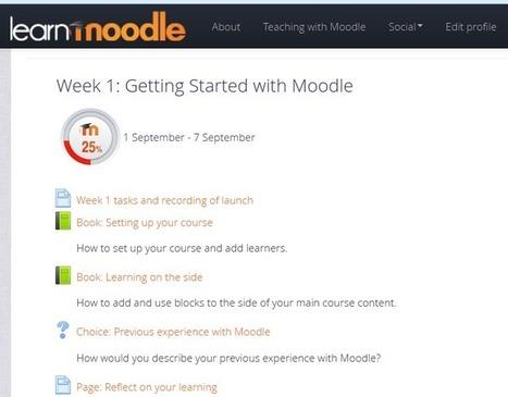LearnMoodle le Moodle mooc évènement de la rentrée | Votre présence dans la distance… | Veille TICE Paris Descartes | Scoop.it