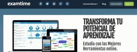 Nueva versión de ExamTime, la plataforma online de estudio, con mensajes, fórmulas, calendario…   Arte y Tecnología   Scoop.it