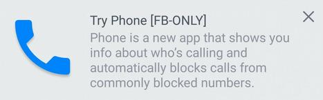 Carriers Beware: Facebook Testing New 'Phone' App | Nerd Vittles Daily Dump | Scoop.it