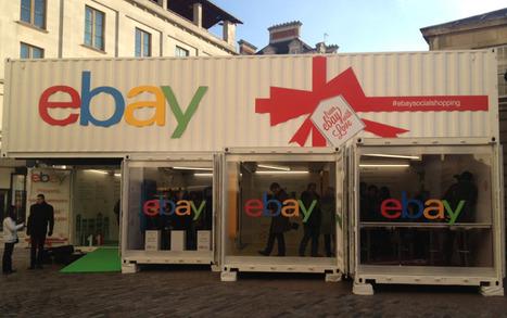 "Le container ""Social shopping"" d'eBay | E-commerce, M-commerce : digital revolution | Scoop.it"