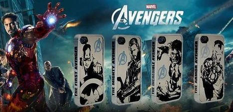 Avengers assemble silver iPhone 4, 4S protective case | Apple iPhone and iPad news | Scoop.it