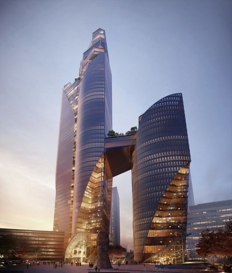 [Christian de Portzamparc] La Défense : 2 tours au lieu d'une - Immobilier - L'Obs | The Architecture of the City | Scoop.it