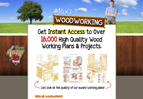 Max's Woodworking Plans and Projects | Education, Health, B2B, DIY Guide, Solar Energy, Reducing Energy Bills, Wholesale, Retail, Real Estate | Scoop.it