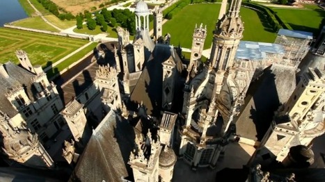 Le Château de Chambord vu par des drones | The Architecture of the City | Scoop.it