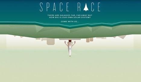 AYUDA PARA MAESTROS: SPACE RACE - CONOCE EL SISTEMA SOLAR COMO NUNCA LO HABÍAS HECHO | Geografía en el Liceo | Scoop.it
