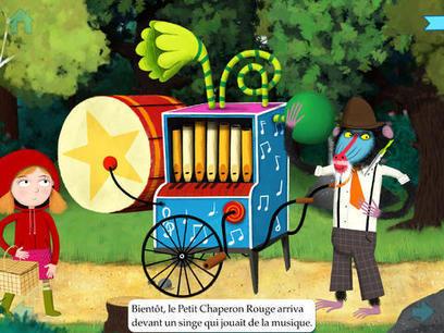 Le Petit Chaperon Rouge façon Nosy Crow avec Gallimard Jeunesse : une intéressante version du conte classique (iPad, iPhone) | DeclicKids, applis enfants - catalogue critique d'applications iPad iP... | Livres de jeunesse numériques | Scoop.it
