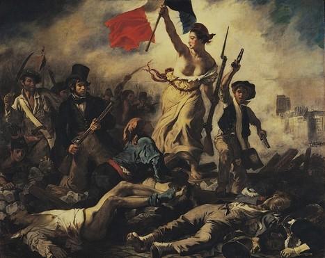 DELACROIX ET LA BANNIÈRE - Louvre-Ravioli | Arts et FLE | Scoop.it